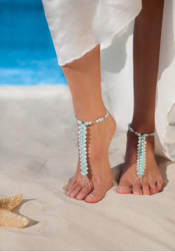 BLUE LAGOON AMAZING BAREFOOT SANDALS