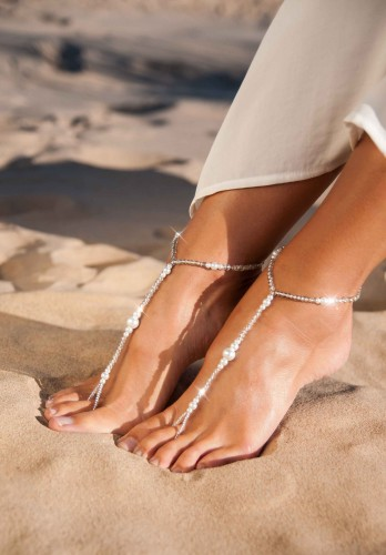 Aria Lovely barefoot sandals