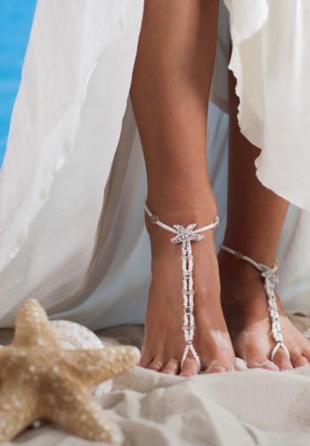 Moorea dazzling feet jewelry