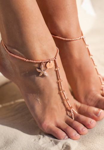 Capri Starfish Barefoot sandals