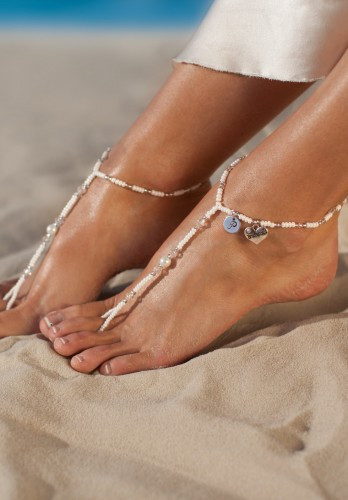 Liana personalized barefoot sandals