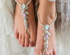 Charming Charlotte barefoot sandals
