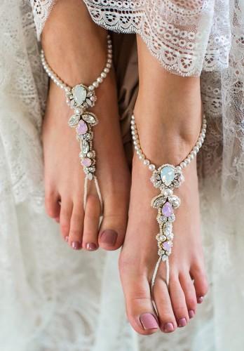 2961975e6 Charming Charlotte barefoot sandals
