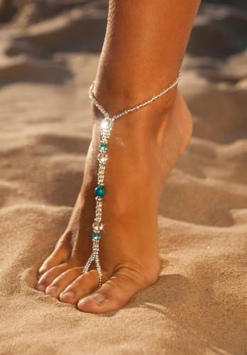 Borneo Bridesmaid foot Jewelry