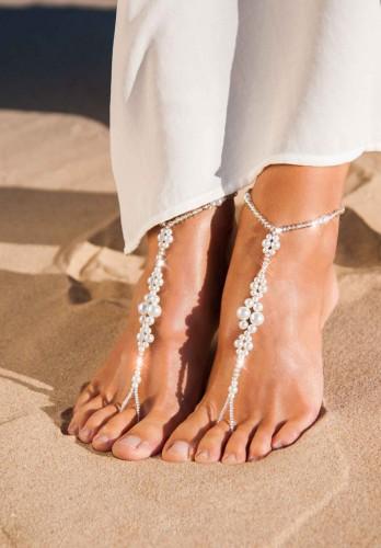 Eden glamorous Barefoot Sandals