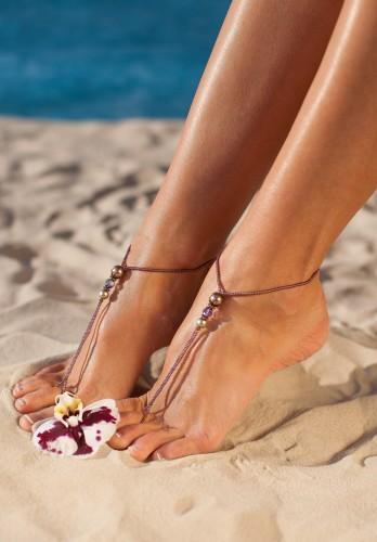 Morocco inspired barefoot sandals
