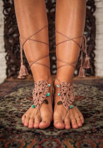 Eden Yoga Barefoot Sandals