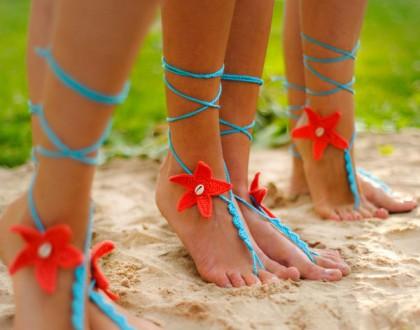 Beach wedding Foot jewelry