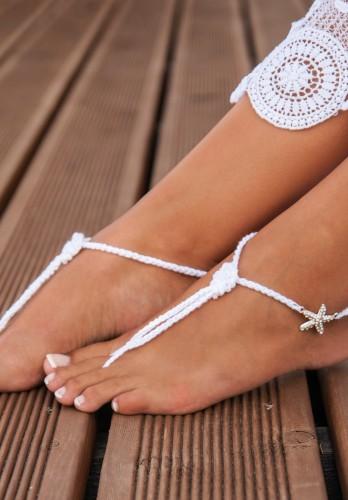 Nautical Bridal Foot jewelry