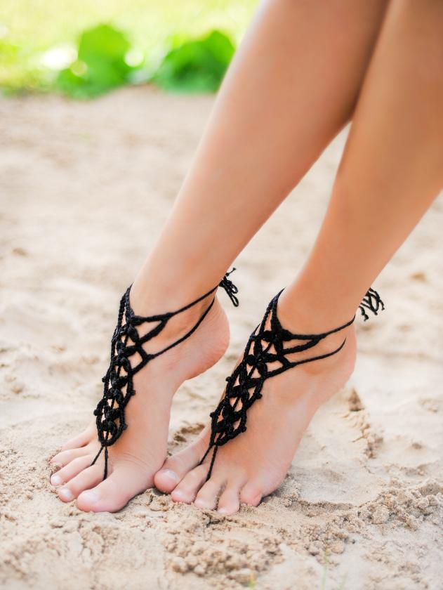 Fleur Sensual Barefoot Sandals 8c3210e75358