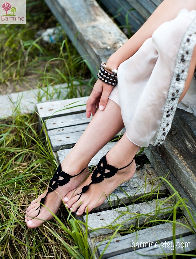 Black Black Barefoot Sandals Black Sandals Lotus Sandals Barefoot Lotus Barefoot Lotus Black Lotus QrhdsCtx