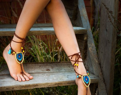 Beads Crochet Foot Jewelry
