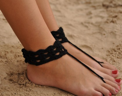 Anklet Nude shoes Foot accessory