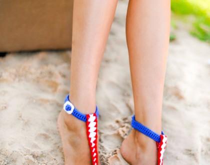 Buckle Barefoot Sandals