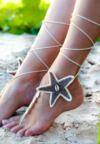 Beach wedding Starfish Seashells