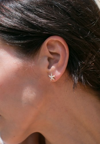 Minimalist Starfish earrings