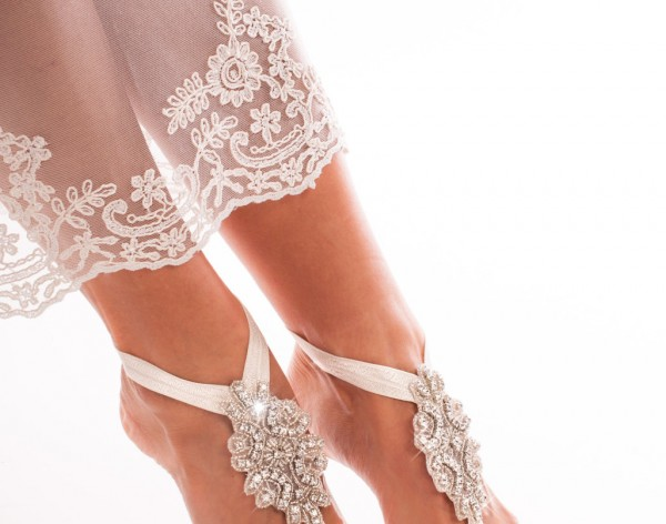 Isabella Crystal foot jewelry