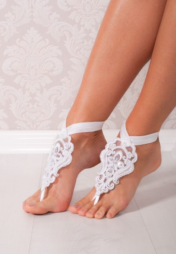 Lucy Lace barefoot sandals